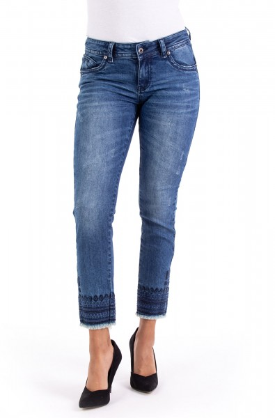 Laura 10555 Cropped Skinny Fit