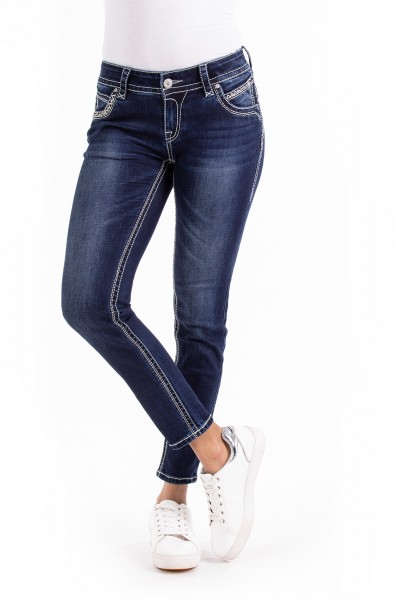 Stacy 30364 Cropped Skinny Fit