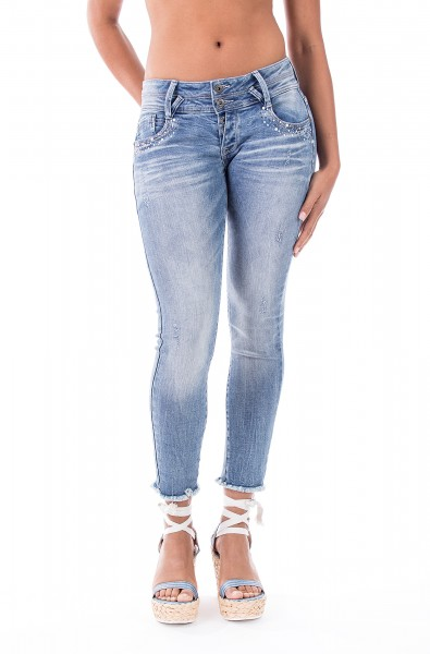 Mary 10155 Cropped Skinny Fit