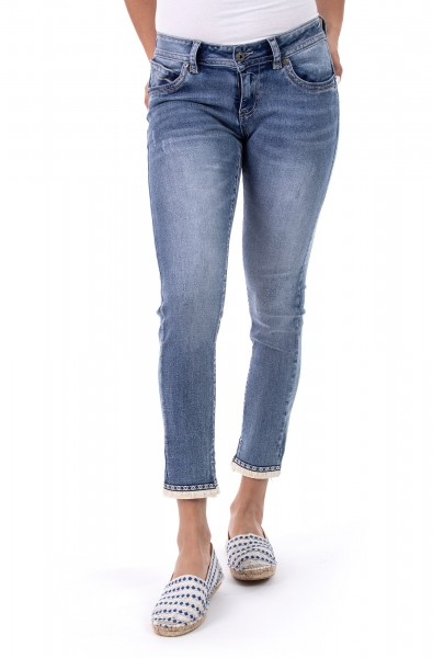 Laura 10404 Cropped Skinny Fit