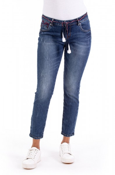 Cherry 10499 Cropped Skinny Fit