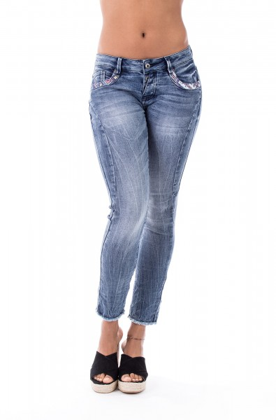 Mary 10167 Cropped Skinny Fit